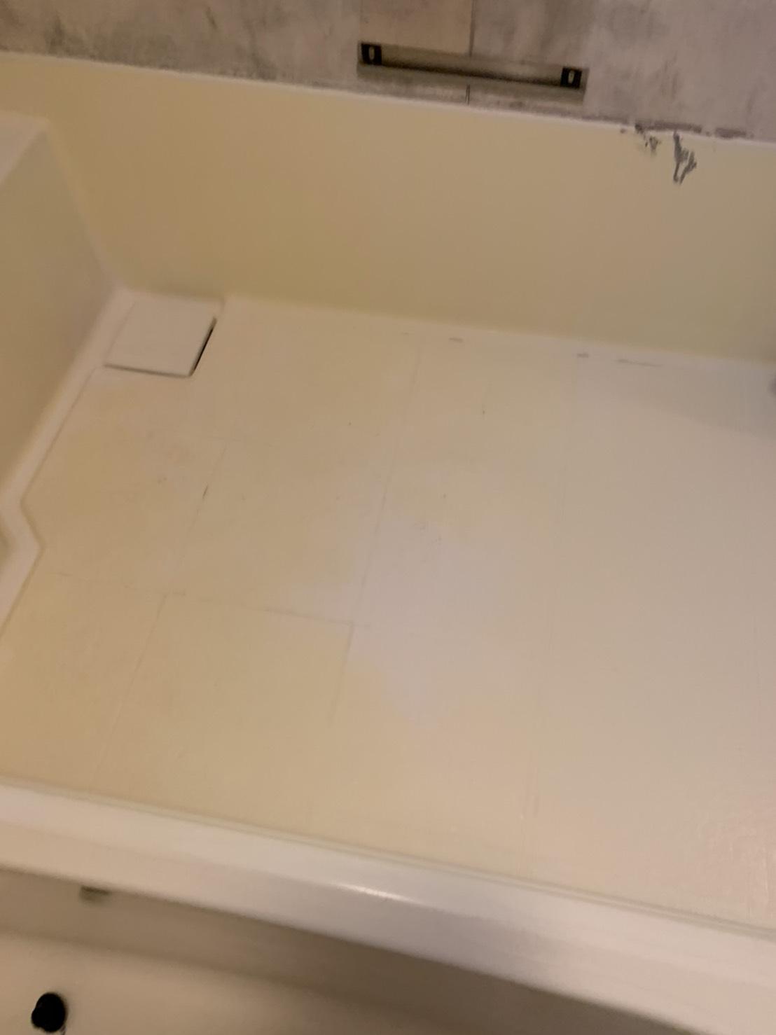 浴槽施工前