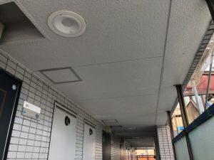 天井施工前/筑波塗装